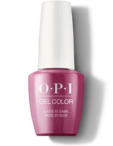 OPI Gelcolor A Rose at dawn broke by noon